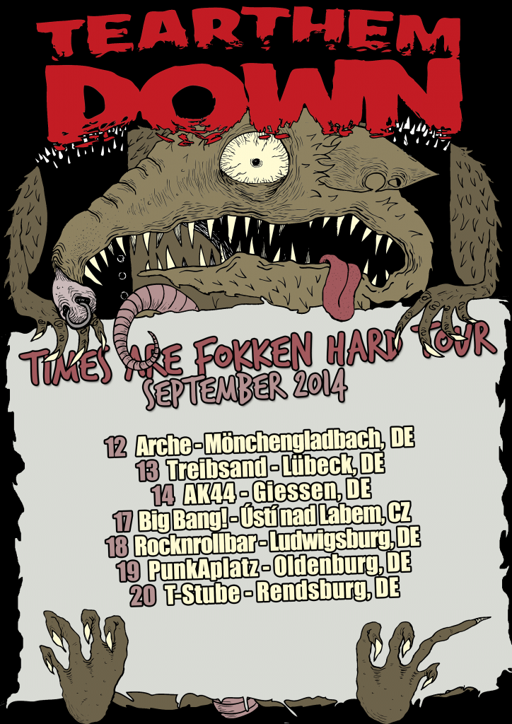 times-are-fokken-hard-tour-2014