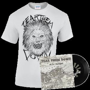 """New Lion T-Shirt Design + Vinyl EP """"Ett Liv i Härlighet"""""""